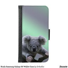 Koala Wallet Case for Samsung Galaxy S4, S5 or S6