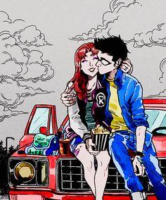 #TeenTitans #Coloredbyme #ToukoWhiteGraphic #animecouple  Ita: Se la prendi, mettere i crediti.. grazie.  Eng: If you take it, put the credits.. thanks.