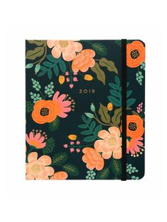 Rifle Paper Co 2018 Lively floral planner – Papermash
