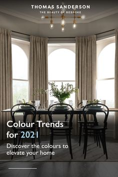 Discover the colours for 2021 which can help to elevate your home and how to incoprate into your space. See more inspiration.