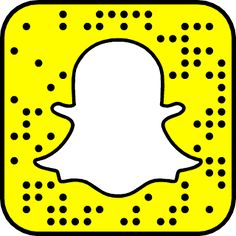 Delicate image in printable snapchat logo