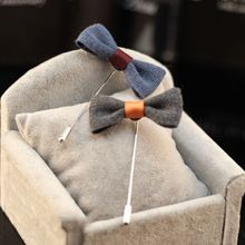 Vintage Mens Lapel Pin Bowtie Lapel Flower Pin Stick Brooch Pin Wedding Boutonniere Corsage Suit Dress Decoration(China (Mainland))