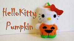 How to Make a Hello Kitty Pumpkin plushie tutorial