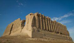 The Great Kyz Kala (7th century) in Merv, Turkmenistan