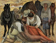 """Diego Rivera  """"Liberation Of The Peon"""", 1931 By: DIEGO RIVERA…."""