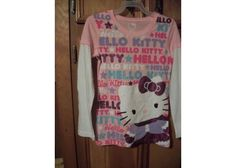 #5000 HELLO KITTY T SHIRT NEW SIZE 14/16 FREE SHIPPING $15.00