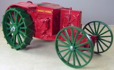 These model tractor toys sure are popular! This one is a Massey Harris reproduction, 1:16 scale.