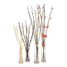 Lighted branches are great to let your floral arrangements make a statement into the night!  Get these branches at a great price at Old Time Pottery!