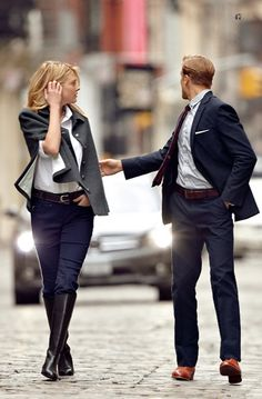 Does the well dressed man come with the outfit? =)