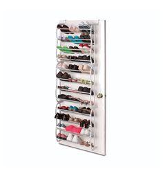 36 Pair Shoe Rack - Over the Door by Merrick $32.99