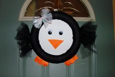 Penguin Wreath!!  going to make it in the near future, excited!