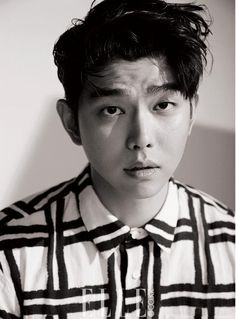 Yoon Gyun Sang For Elle July 2016   Couch Kimchi