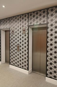 Miles and Lincoln   Laser cut screens, laser cut panels