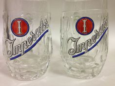 2 Heavy Imperator Beer Mugs - Dutch Beer Company - Support Dog Rescue