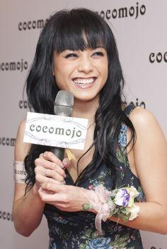 Bernice Liu with Cocomojo