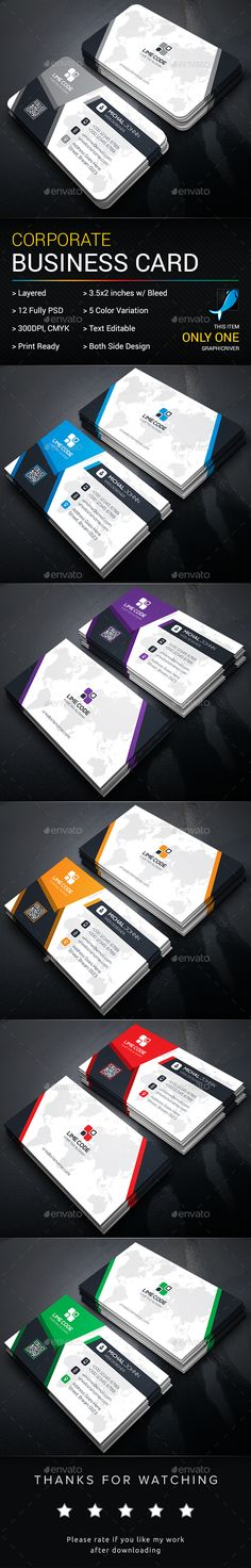 Business Card Template PSD. Download here: https://graphicriver.net/item/business-card/17308845?ref=ksioks