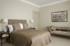 couleur chambre lin et chamoix pour deco chic dans chambre parentale