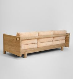 Wooden Sofa, Wooden Bar, Outdoor Sofa, Outdoor Furniture, Outdoor Decor, Breath Of Fresh Air, Linseed Oil, Cushion Pads, Upholstery