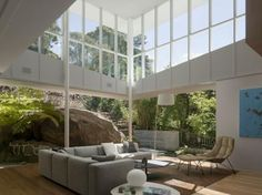 Skirt + Rock House  the way they blend the boundaries of indoor and outdoor space is seamless...