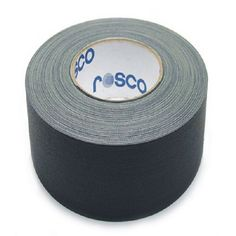 CINTA AMERICANA NEGRA rollo de 10 cm x 25 mts ROSCO  La cinta Rosco mas versátil, que tiene cientos de usos en el teatro, cine y televisión  Una sensacional y versátil cinta de tela que ofrece una gran adhesión y facilidad de aplicación  Ideal para aislar y fijar cables