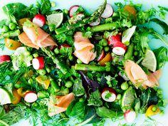 Hvilke madvarer er gode og dårlige for din tarm? Diet Recipes, Healthy Recipes, Healthy Options, Seaweed Salad, Get Healthy, Smoothies, Clean Eating, Health Fitness, Lunch