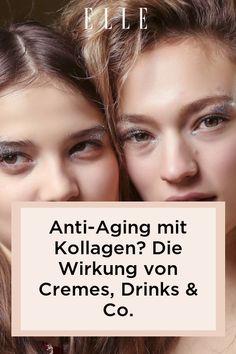 Welche Wirkung hat Kollagen? Macht es die Haut straffer und glättet es Falten? Jetzt lesen: Kollagen Cremes, Drinks & Co. im Wirksamkeits-Check! #beauty #haut #hautpflege #skincare #haare #haarpflege