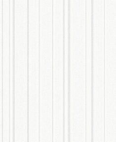 Winchester Textured Stripe Opal White wallpaper by Albany - corridoio