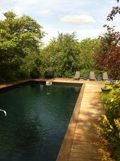 Piscine couloir de nage Liner couleur Gris clair | Piscine ...