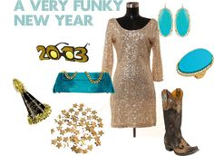 """A Very Funky New Year"" by westernglamour on Polyvore"