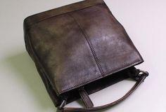 Genuine Leather bucket bag shoulder bag tote bag vintage for women leather crossbody bag