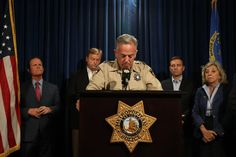 After Las Vegas Shooting a Tight-Lipped Sheriff Faces a Maddening Case