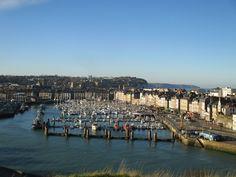 Location vacances maison St Aubin sur Scie: Port de Dieppe