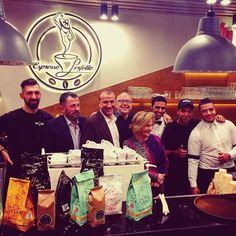 Hello from #Cairo #coffeelovers #espresso #italianstyle #perfetto #twitter #coffeegeek #coffeeshop #baristadaily