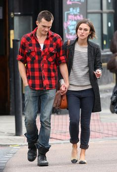 Keira Knightley and Rupert Friend Work Fashion, Modest Fashion, Keira Knightley Style, Rupert Friend, Cool Outfits, Casual Outfits, Fashion Fabric, New Wardrobe, Simple Dresses