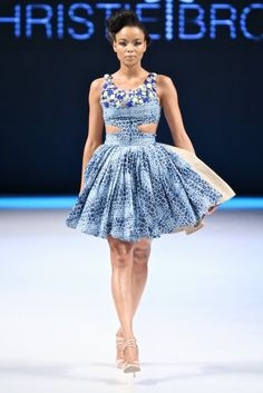 Christie Brown (Ghana) - Fashion Business Angola 2011 Love this! African Inspired Fashion, African Dresses For Women, African Print Fashion, African Wear, African Women, Fashion Prints, African Prints, African Style, Fashion Styles
