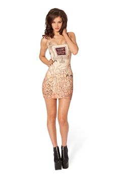 Marauder's Map Inside Dress by Black Milk Clothing Harry Potter I solemnly swear I am up to no good. Mischief managed.
