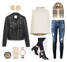 """""""Untitled #58"""" by arielsepton ❤ liked on Polyvore featuring TIBI, AG Adriano Goldschmied, ASOS, MANGO, Burberry, Marc by Marc Jacobs, Tory Burch and Topshop"""