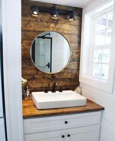 Clever tiny house bathroom with tub ideas (2)