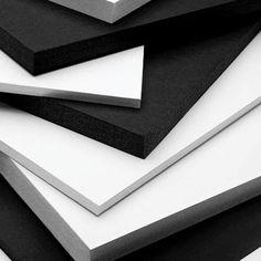 Self Adhesive, Pressure Sensitive Foam Boards, Gator Boards, Hardboards, Sintra
