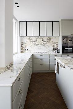 One Bedroom, Solid Oak, 1930s, Art Deco, Kitchen Cabinets, Flooring, Interior, Modern, House