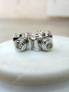 Click, Click Camera Stud earrings.