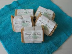 [KICKSTARTER] Sheep's Milk Soap:  Straight from the Farm