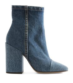 You'll want to wear these @driesvannoten denim booties with a stack heel every day @jeffreyatlantanewyork #perfect #hot #faded #denim #booties #instamood #instalike #instagood #instagramers #instadaily #instaglam #heels #leisure #color #blue #jeans #boho #cute #style #beautiful #good #design #dries #princeton #newyork #winter #chic #casual #lifestyle