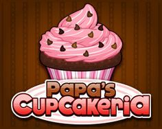 Papa's Cupcakeria - my new best friend