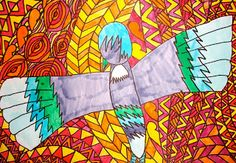 Mrs H @ St Francis Xavier: Maori Animal Myth Art Francis Xavier, St Francis, Maori Legends, Nz Art, Maori Art, Art Ideas, Saints, Teaching, Kids