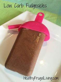 Try these non-dairy, sugar-free, low carb fudgesicles for less than regular popsicles.