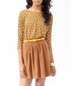 Essential Relaxed Polka Dot Top