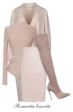 """Blush"" by romaritasenorita ❤ liked on Polyvore featuring Each X Other, Reiss and Le Silla"