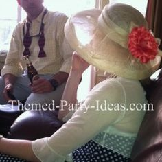 Kentucky Derby Party Someday I will pull one off-must start designing my hat! Derby Time, Derby Day, Summer Events, Party Themes, Party Ideas, Kentucky Derby, Party Planning, Adult Fun, Blue Moon