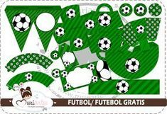 Soccer Free Printable Kit. - Is it for PARTIES? Is it FREE? Is it CUTE? Has QUALITY? It´s HERE! Oh My Fiesta! #soccerkits